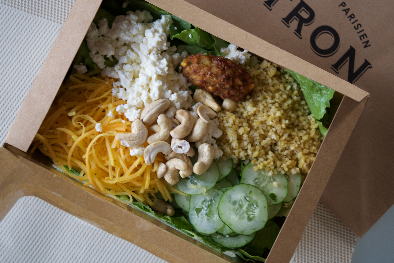 take out salad at Citron Minami Aoyama