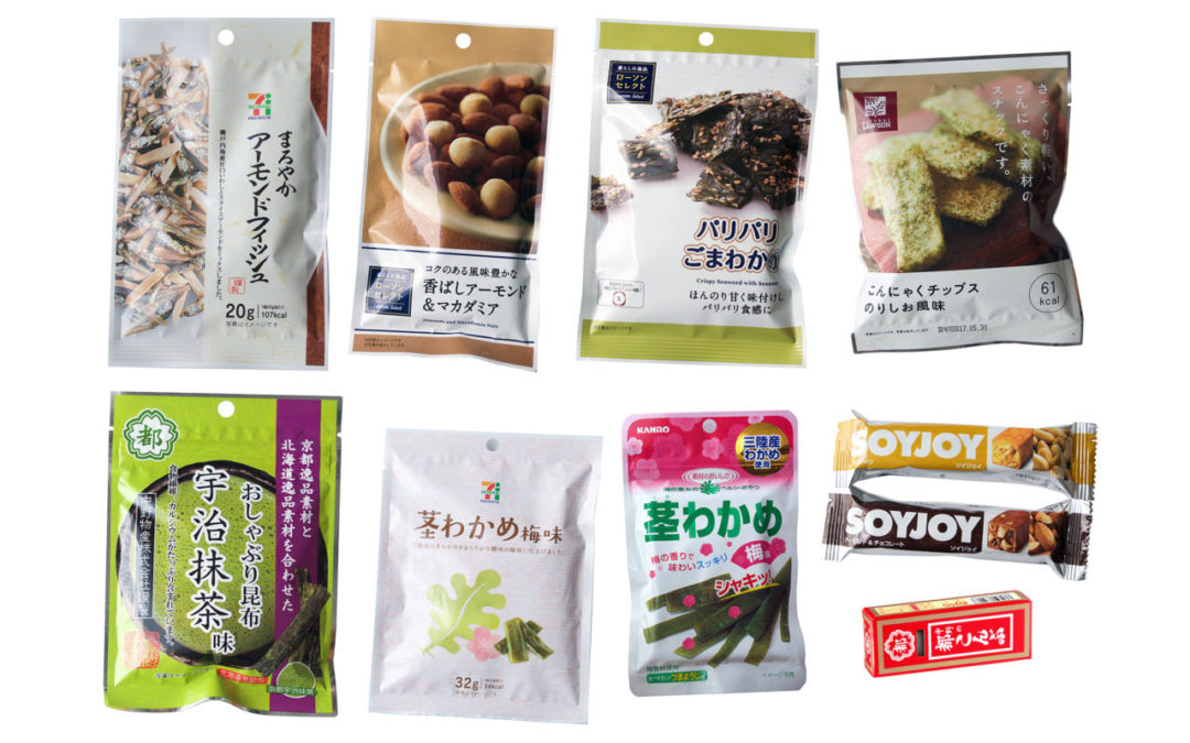 Blogging about Healthy Japanese Snacks in between Meals