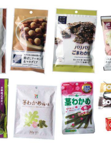 healthy snacks Japan