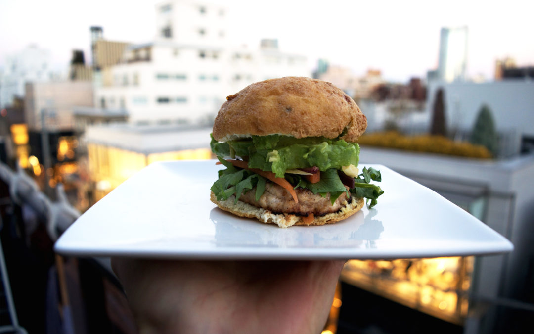 """The """"Zero Carb"""" Tokyo Burger and other Easy Japanese-Inspired Low Carb """"Breakfasts"""""""