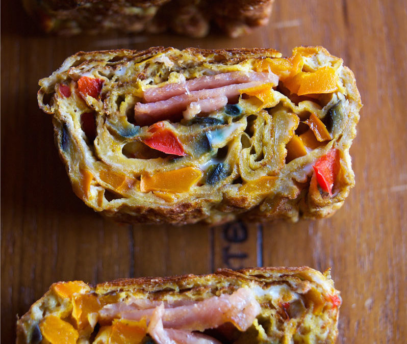 Healthy Tamagoyaki- Reshape your breakfast, your fry pan, and your body with these Japanese rolled omelettes