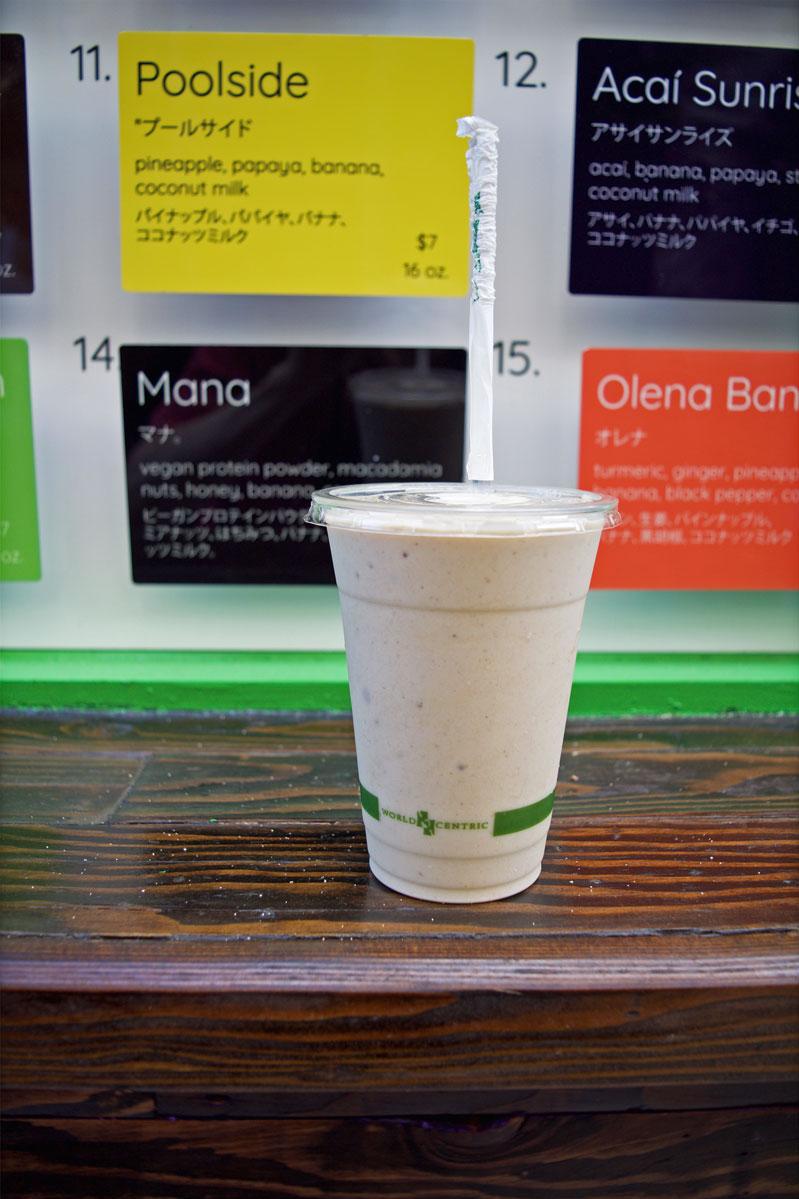 Banán, healthy food Waikiki