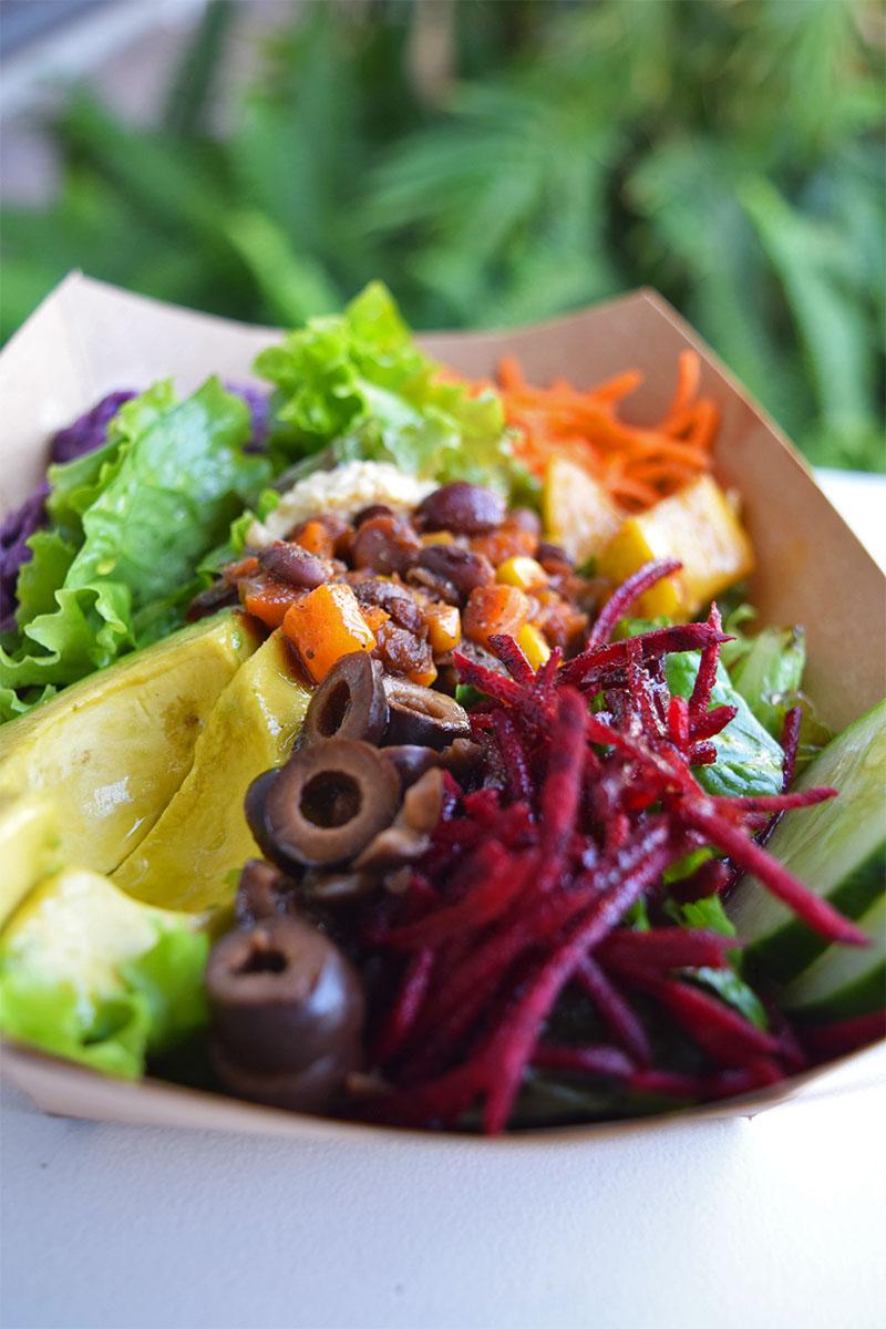 Down To Earth Organic & Natural Honolulu, healthy lunch Waikiki