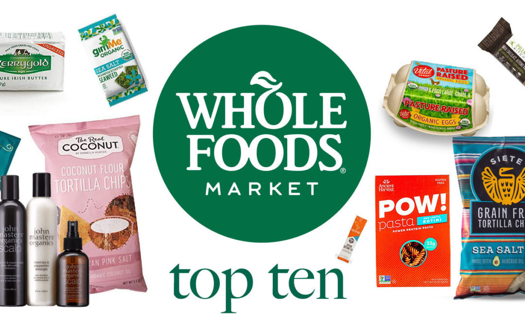 10 Low Carb Foods You Havta to Try from Whole Foods ( + Skin Lube )