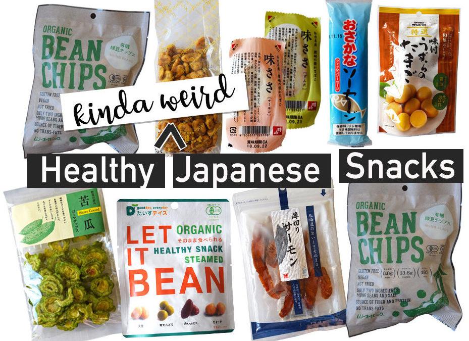 Healthy Japanese Snacks (Kinda Weird)