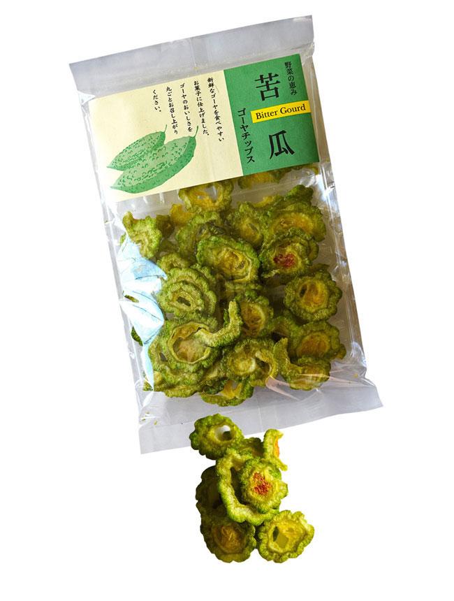 goya chips, Okinawa, healthy snack