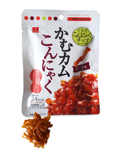 konyaku chips, healthy snacks Japan