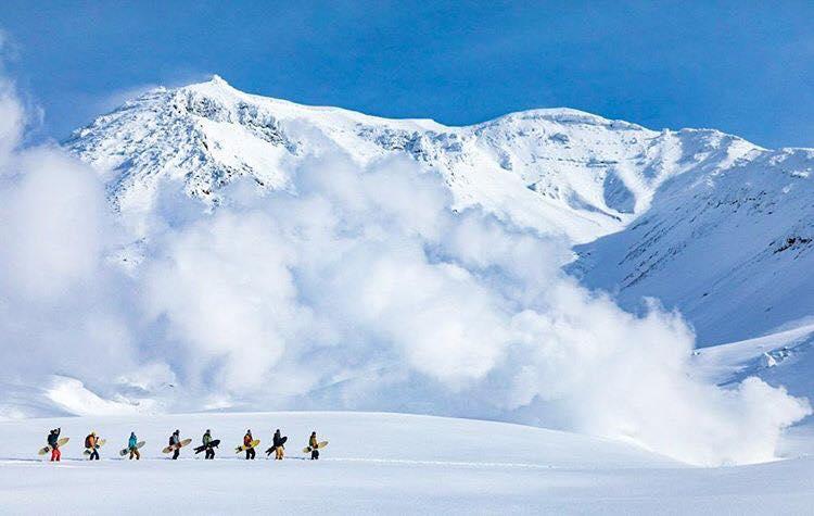 Zen training, snowboarding