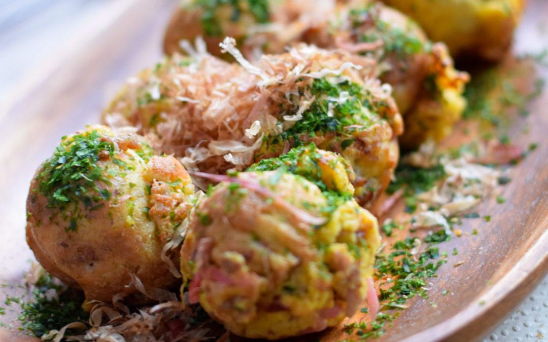 Healthy Takoyaki Recipe– Gluten-free, Keto, Low-carb
