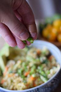 cauliflower fried rice ingredients