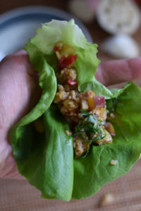 lettuce wrap chicken