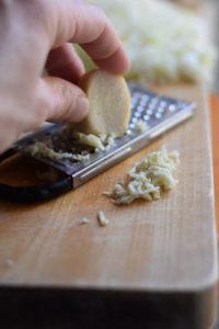 Japanese lettuce wrap ingredients