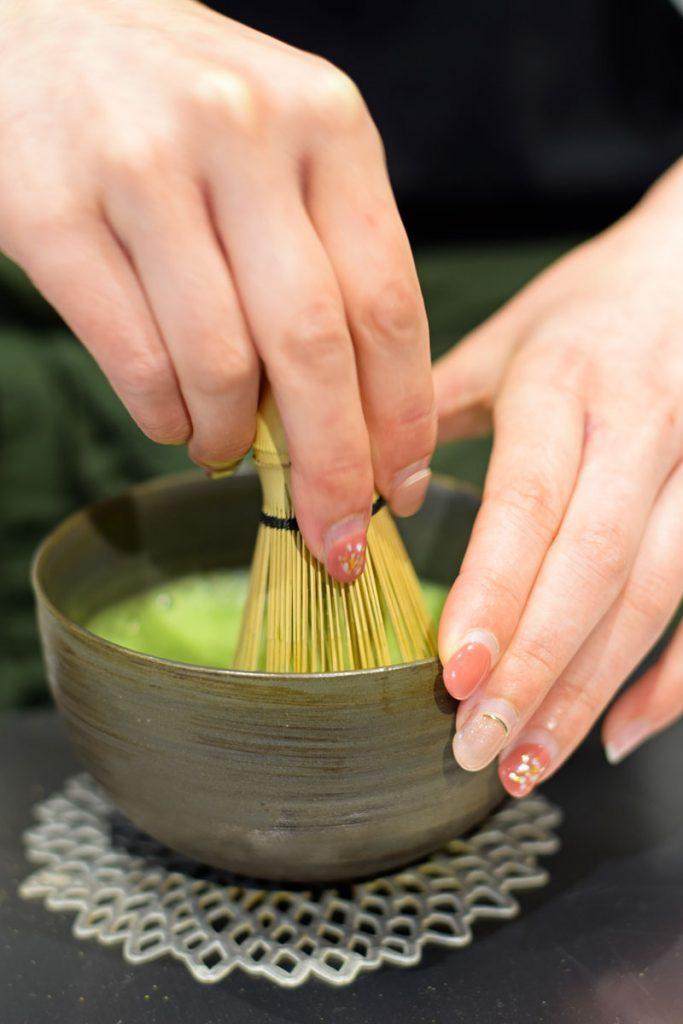 organic matcha in Tokyo