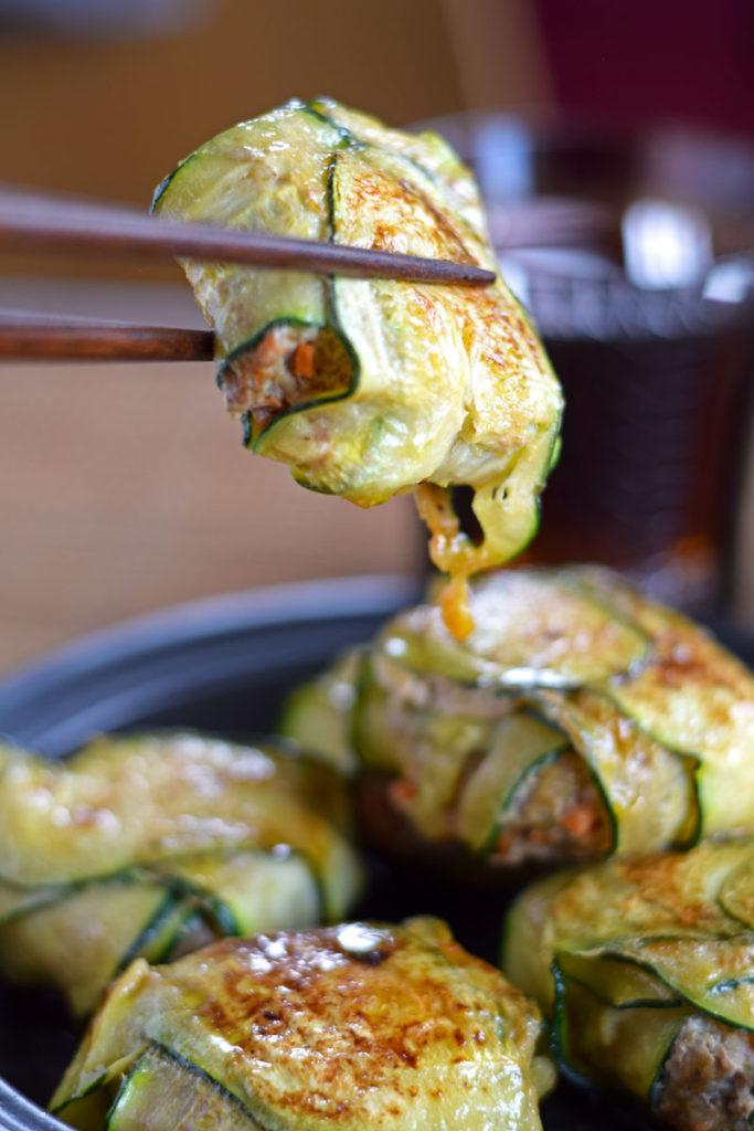 zucchini recipe keto low carb gyoza