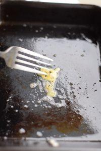 test tamagoayki pan with egg