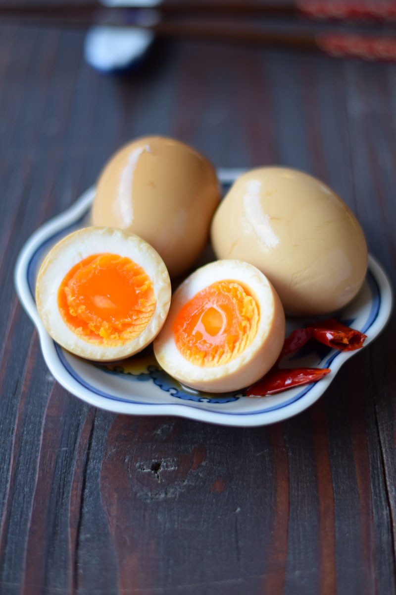 Ajitama – How to make ramen egg for a snack or appetizer