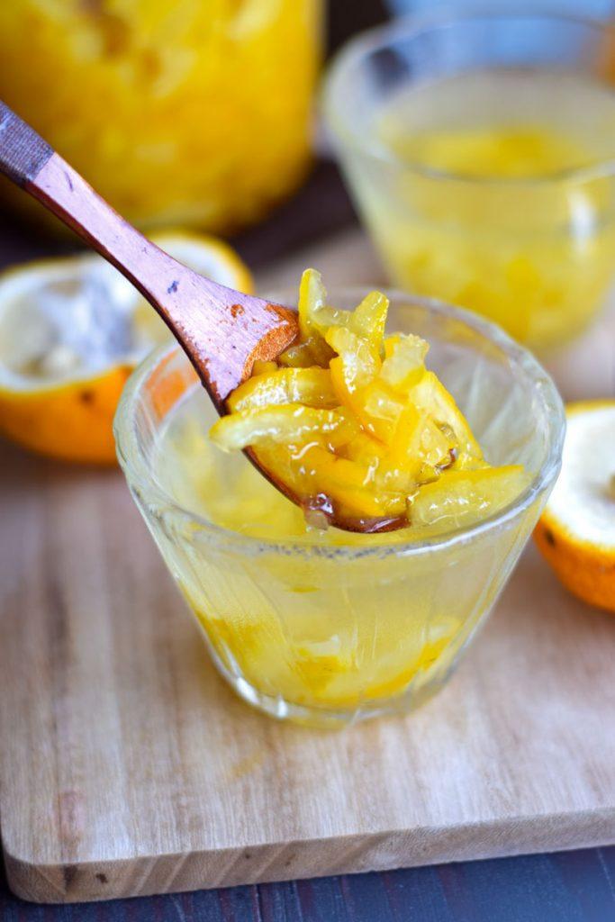 how to make citron tea