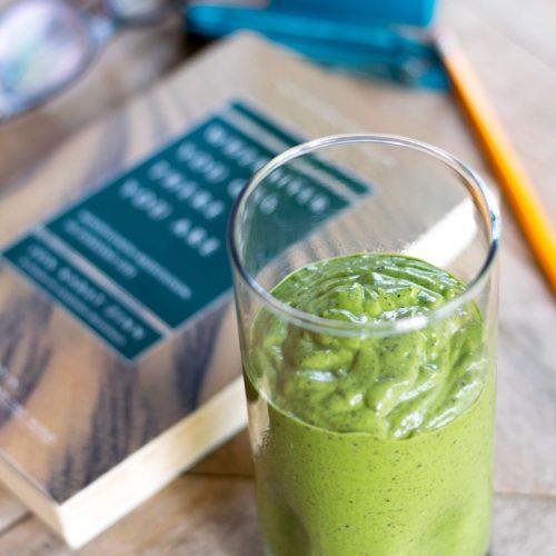 matcha brain food smoothie