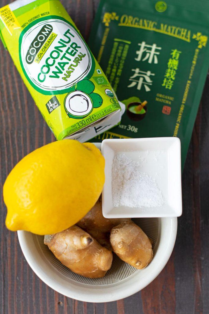 green health tea shot ingredients